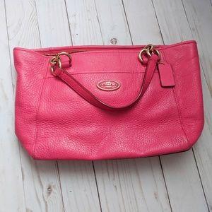 Coach Hot Pink Shoulder Bag Purse